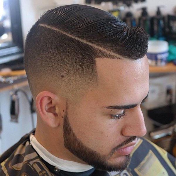 Bald Taper Fade Haircut for Men