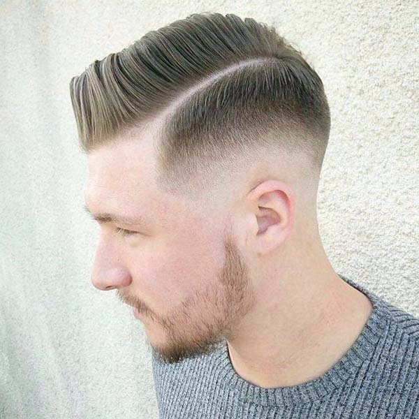 Classic Taper Haircut Side Part
