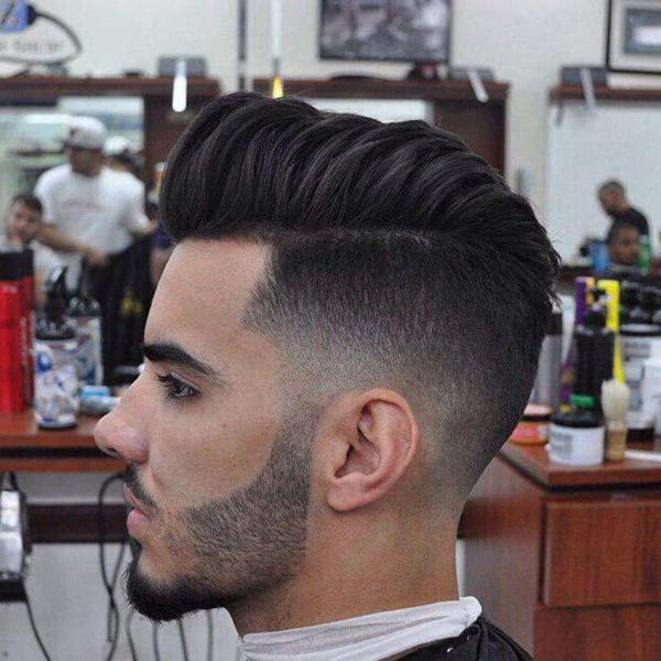 Fading Fade Haircut for Men