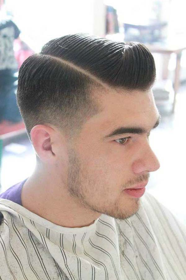 Long Classic Taper on the Sides
