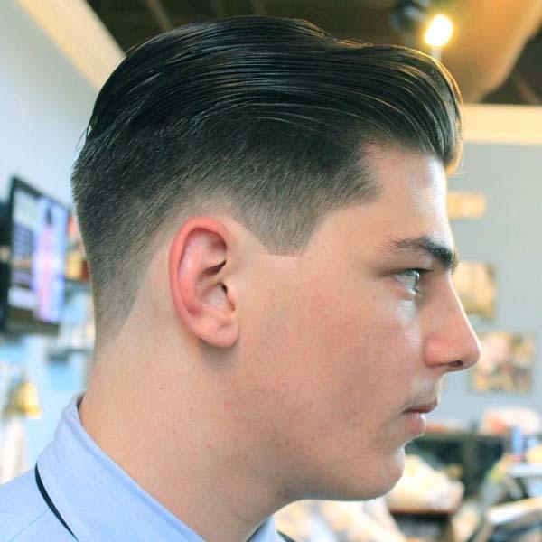 Medium Length Taper Haircut