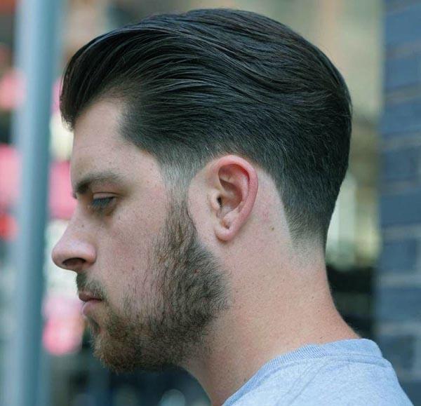 Modern Medium Taper Haircut