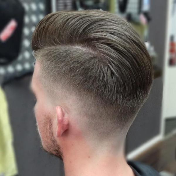 Taper Haircut Back View