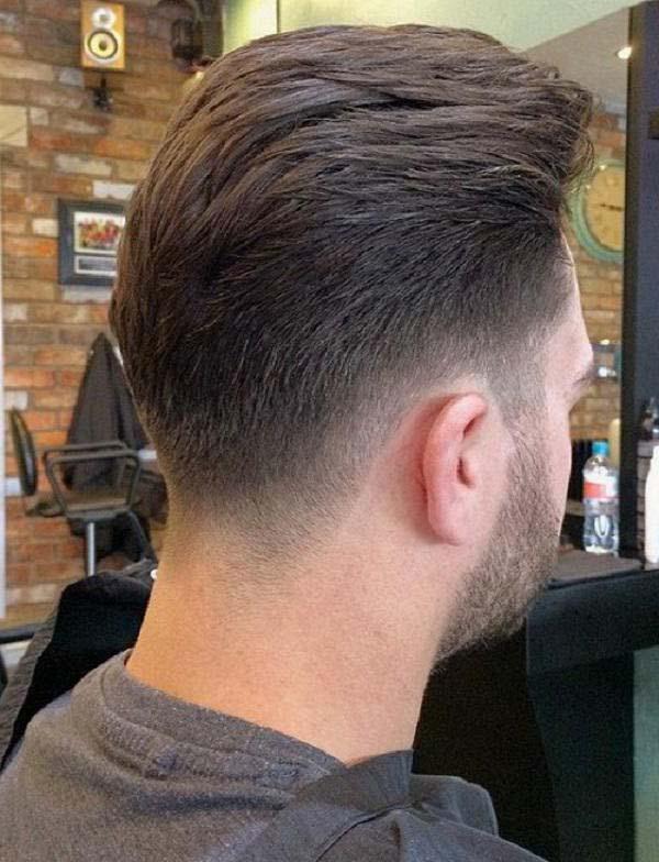 Tapered Neckline Medium Haircuts